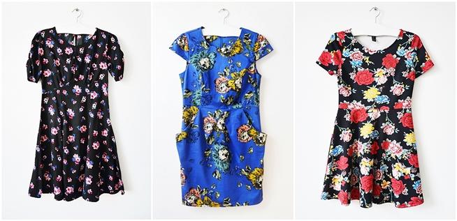 sukienki floral